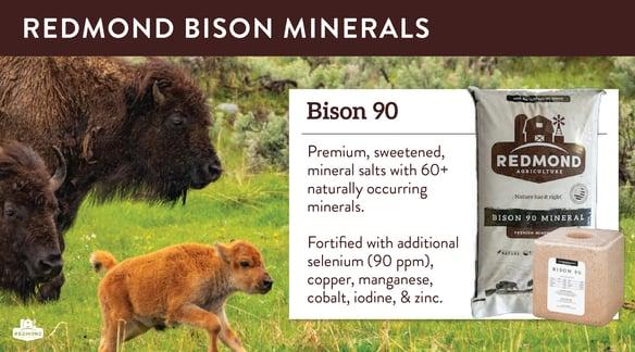 Redmond bison minerals