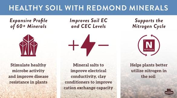 Redmond Minerals supports healthy soil