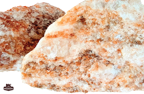 Close up of a rock from the Redmond Mineral deposit